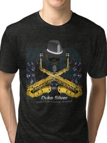 """The"" Duke Silver Tri-blend T-Shirt"