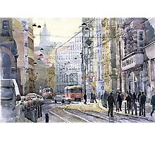 Prague Vodickova str variant Photographic Print