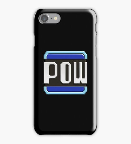 POW BLOCK iPhone Case/Skin