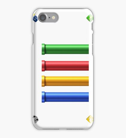 YOSHI Warp, Rocket Pipes iPhone Case/Skin