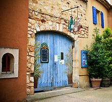 Restaurant in southern France by KSKphotography
