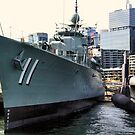 HMAS Vampire & Onslow by Robyn Forbes