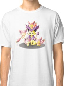 Pokemon: Mama Delcatty and her Baby Skitty Classic T-Shirt