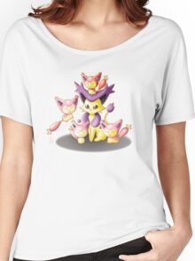 Pokemon: Mama Delcatty and her Baby Skitty Women's Relaxed Fit T-Shirt