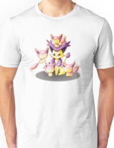 Pokemon: Mama Delcatty and her Baby Skitty Unisex T-Shirt