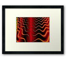 The Burning Framed Print