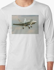 McDonnell Douglas F/A-18C Hornet J-5005 Long Sleeve T-Shirt