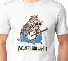 Hog Playing Banjo Unisex T-Shirt