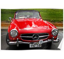 WOW !!! Mercedes Benz 190 SL 1958 model  Poster