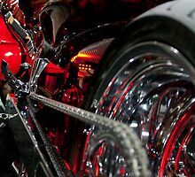 Little Red Bike by Dan Lauf