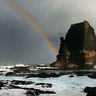 Rainbow Over Pulpit Rock by Sam Sneddon