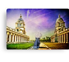 Return from the past. Canvas Print