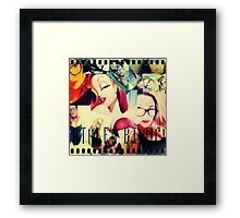 Catalea's Jessica Rabbit Framed Print