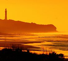 Splitpoint Lighthouse, Great Ocean Road, Australia by Paul Greene