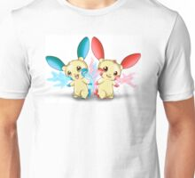 Pokemon: Plusle and Minun Attack Together! Unisex T-Shirt