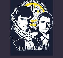 Sherlock Design Zipped Hoodie