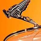 1931 Cord L-29 LeGrande Speedster Hood Ornament 2 by Jill Reger