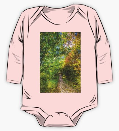 The Forest Path Art One Piece - Long Sleeve