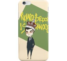 Richard Brook is Innocent  iPhone Case/Skin