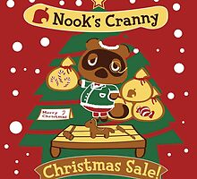Tom Nook's Christmas Sale by DatLonelyTurtle