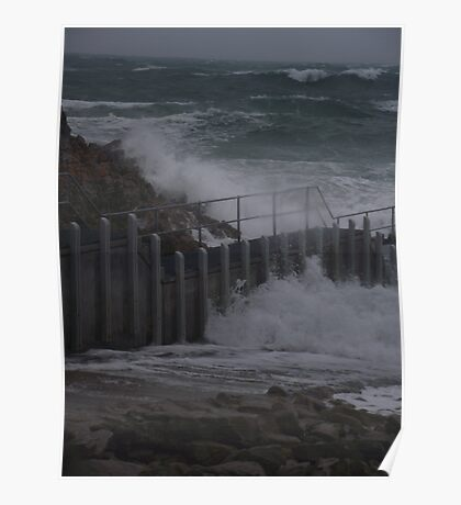 rugged weather Poster