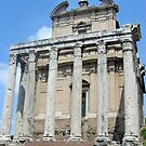 The Temple of Antoninus and Faustina by Margaret Stevens
