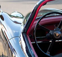 1959 Jaguar S Roadster by Jill Reger