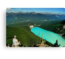 Turquoise Jewel - Lake Louise Canvas Print