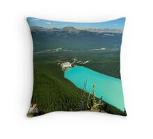 Turquoise Jewel - Lake Louise Throw Pillow