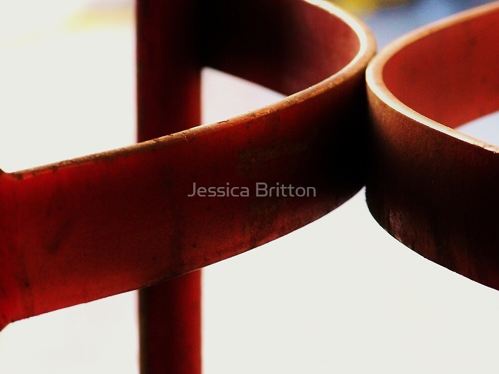 Hard Red, Soft Red by Jessica Britton