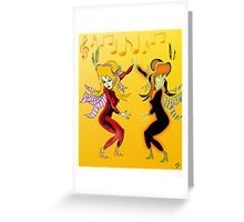 Dance Sister, Dance Greeting Card