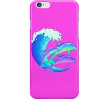 Psychedelic Dolphins iPhone Case/Skin