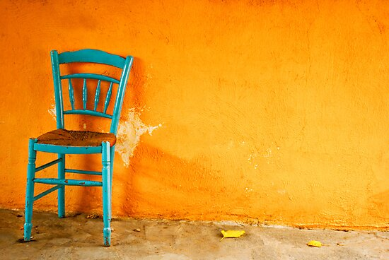 Leaf and a Chair by Clockworkmary
