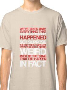 Martin as Miss Marple Classic T-Shirt