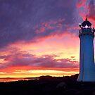Sunset at Port Fairy Lighthouse by Adam Gormley