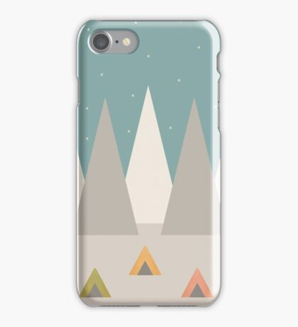 Campground iPhone Case/Skin