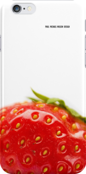 Strawberry iphone by Paul-M-W