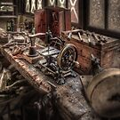The Old Sewing Machine by timmburgess
