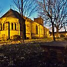 Dusk at St Chads  by Lilian Marshall
