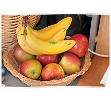 fruit & home - stillife Poster