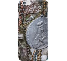 Crosses and Virgin Mary iPhone Case/Skin