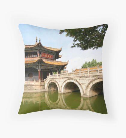 Buddhist China 3 Throw Pillow