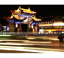 China by Night 2 Photographic Print
