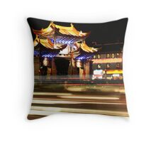 China by Night 2 Throw Pillow
