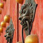 The Temple door 4 by barnabychambers