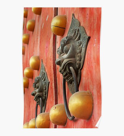 The Temple door 4 Poster