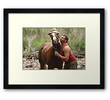 Are we photogenic or what? Framed Print