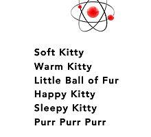 Soft Kitty Sleepy Kitty  by Ommik