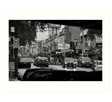 Swan Street, Richmond #1 Art Print