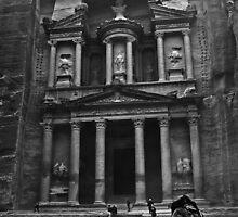 The Treasury, Petra by eddiechui
